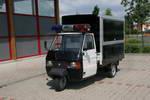 Die TM 703 vom Piaggio in der Version Highway Patrol fuer die Schweiz