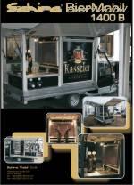 Die APE TM 703 von Piaggio , die mobile Biertheke für den mobilen Einsatz.