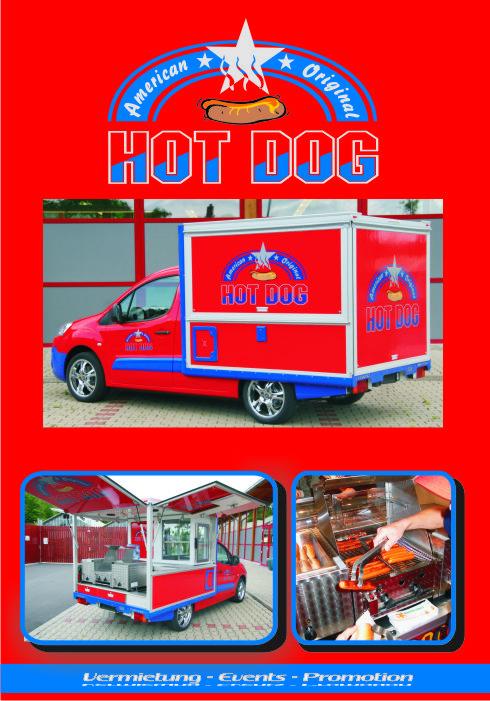 Der HotDog Partner in der mobilen Hot Dog version. Mobil und flexibel hot Dogs auf der Straße verkaufen.