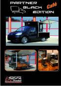 Der Peugeot Parnter Black Edition , die mobile Espressobar und Kaffeebar  für den mobilen Einsatz.